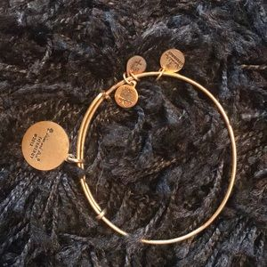 Alex & Ani gold tone bracelet